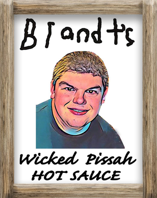Brandt's Wicked Pissah Hot Sauce